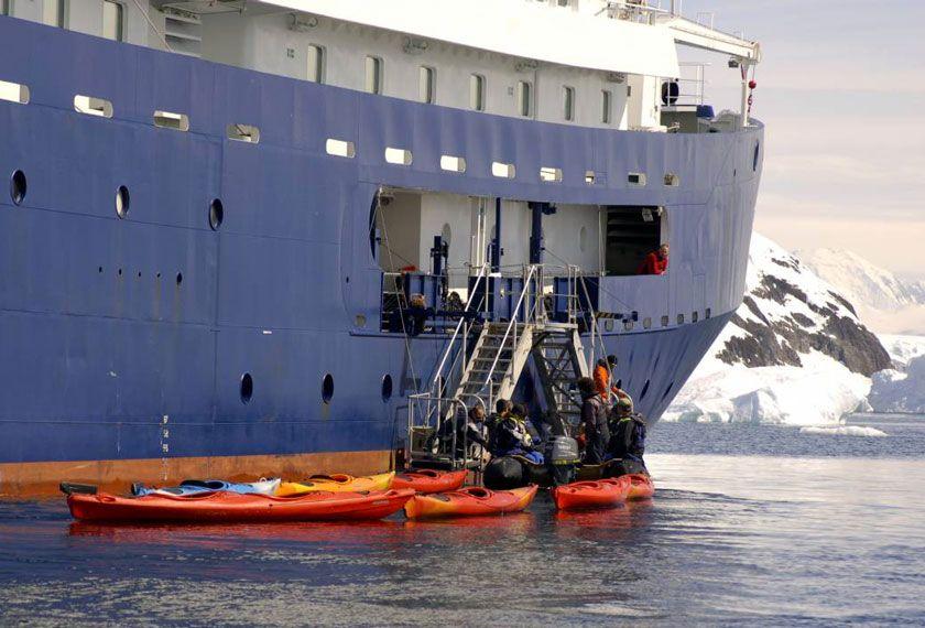 Croisieres Antarctique Classique - Tourisme d'Aventure en Antarctique avec le M/V Plancius/Ortelius