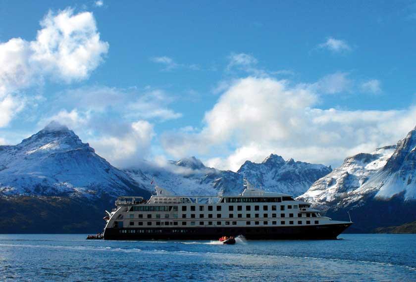 Croisières Australis - Australis 9 jours <br />Route de Darwin <br /> Punta Arenas
