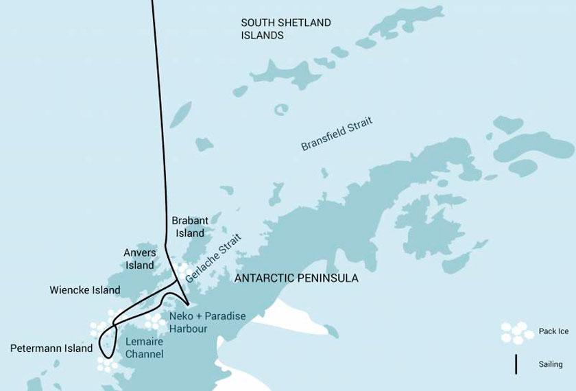 Turismo de Aventura na Antártida