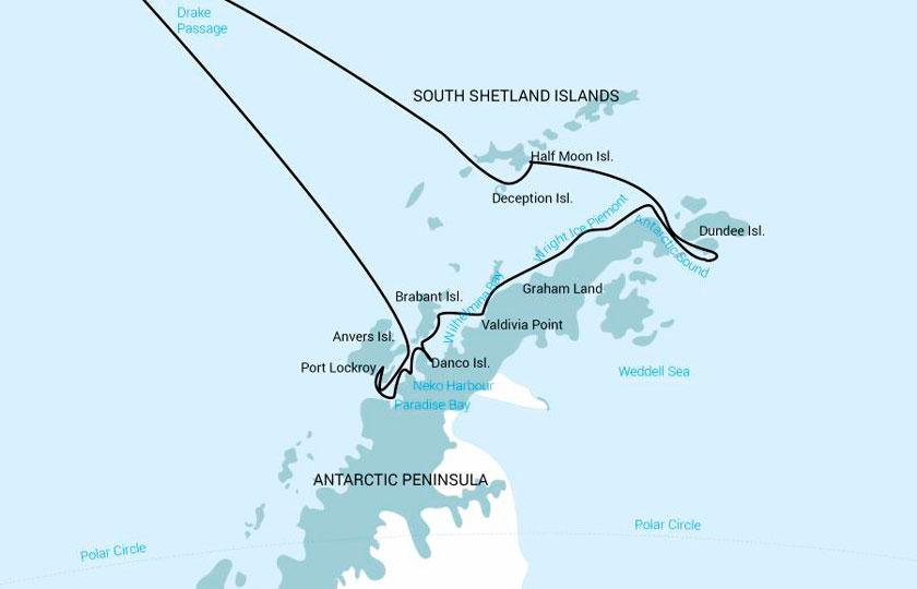 Péninsule Antarctique Pleine dans le M/V Janssonius