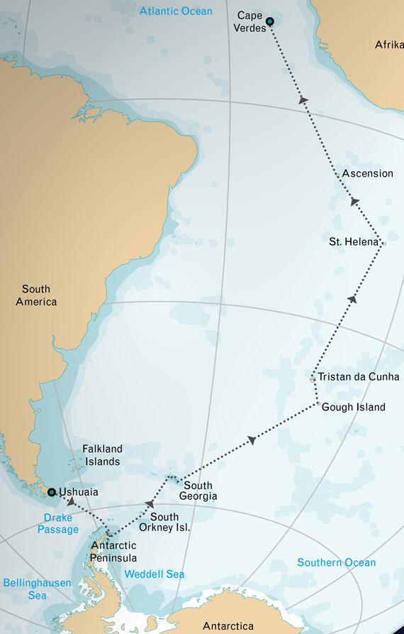 Atlantic Odyssey & Antarctica on the M/V Jansonnius