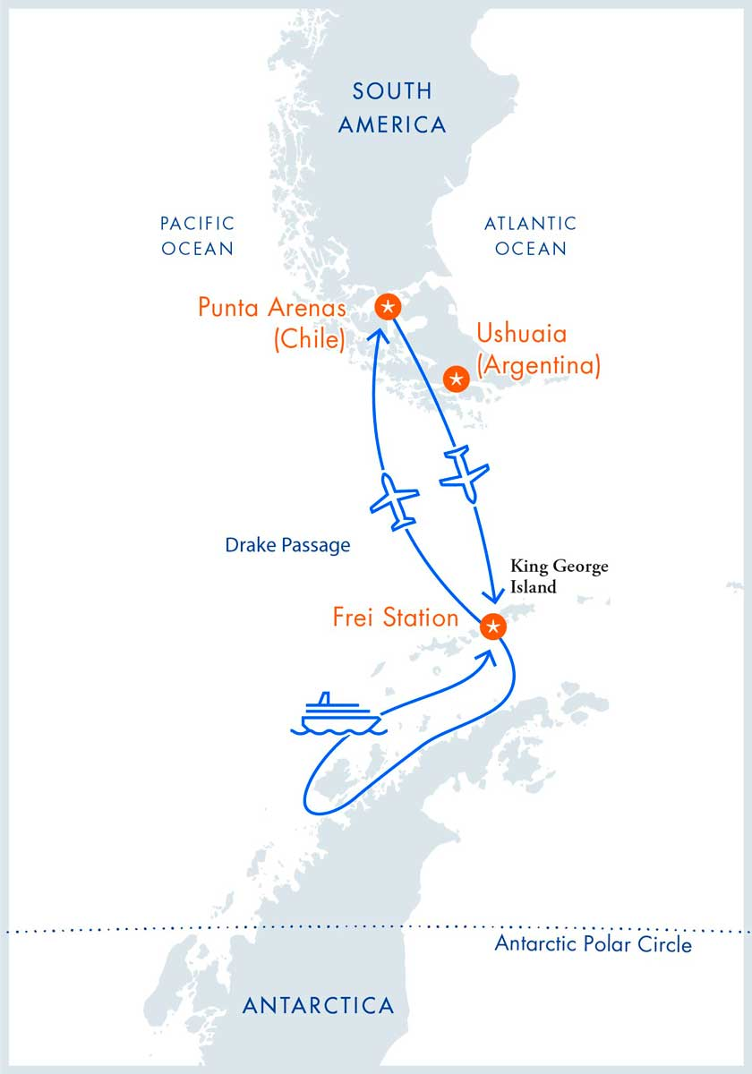 Luftkreuzfahrt auf dem MV Ozean Nova