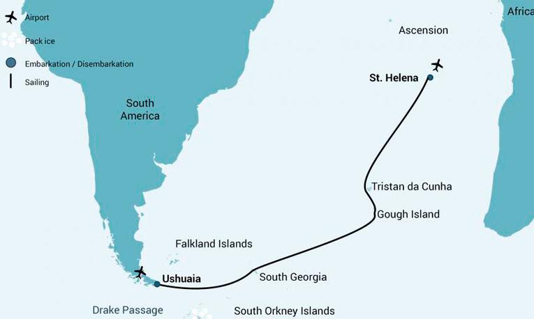 Odisséia no Oceano Atlântico na M/V Janssonius