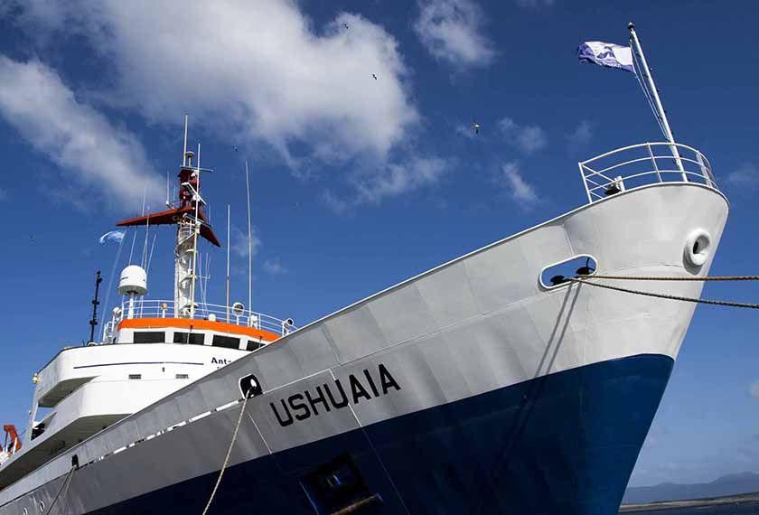 Ships to Antarctica - M/V Ushuaia