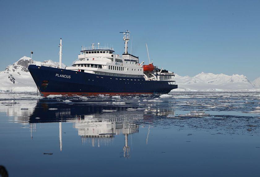 Bateaux Antarctique - M/V Plancius