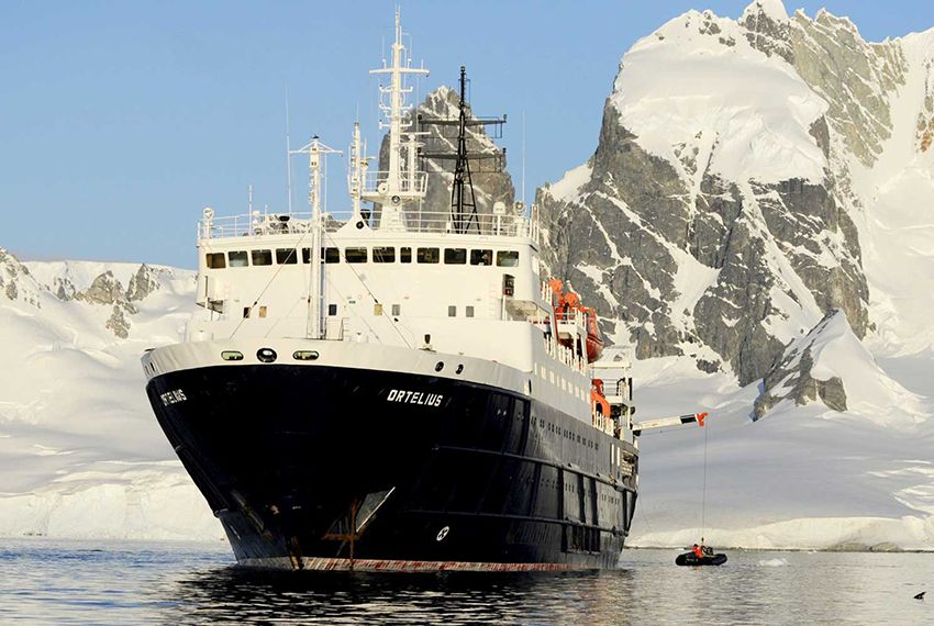 Barcos Antartida - MV Orfelius